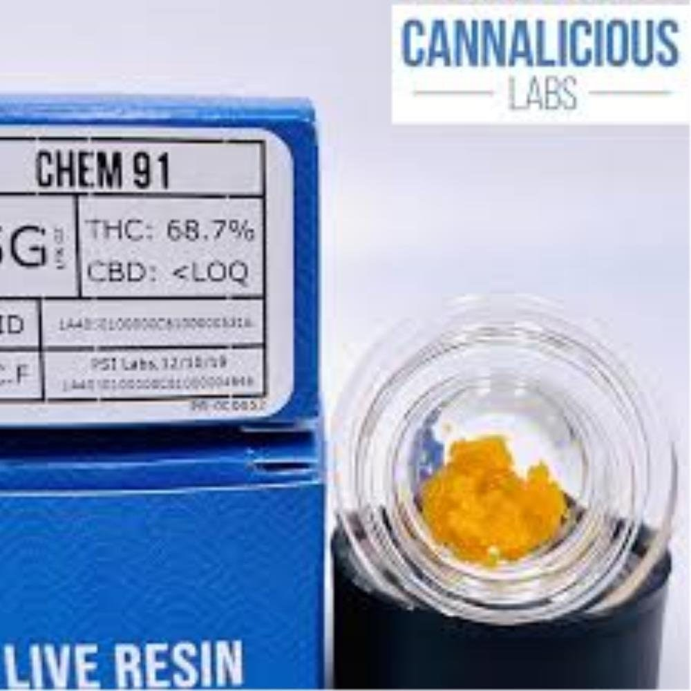 Chem 91 Live Resin Concentrate Live Resin