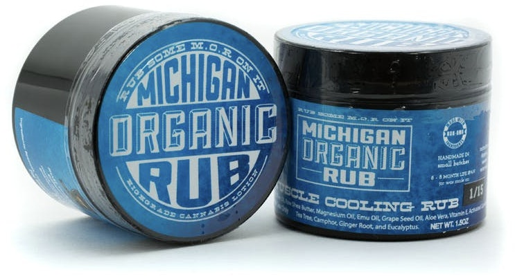 Extra Relief Muscle Cooling Rub Topicals Cream
