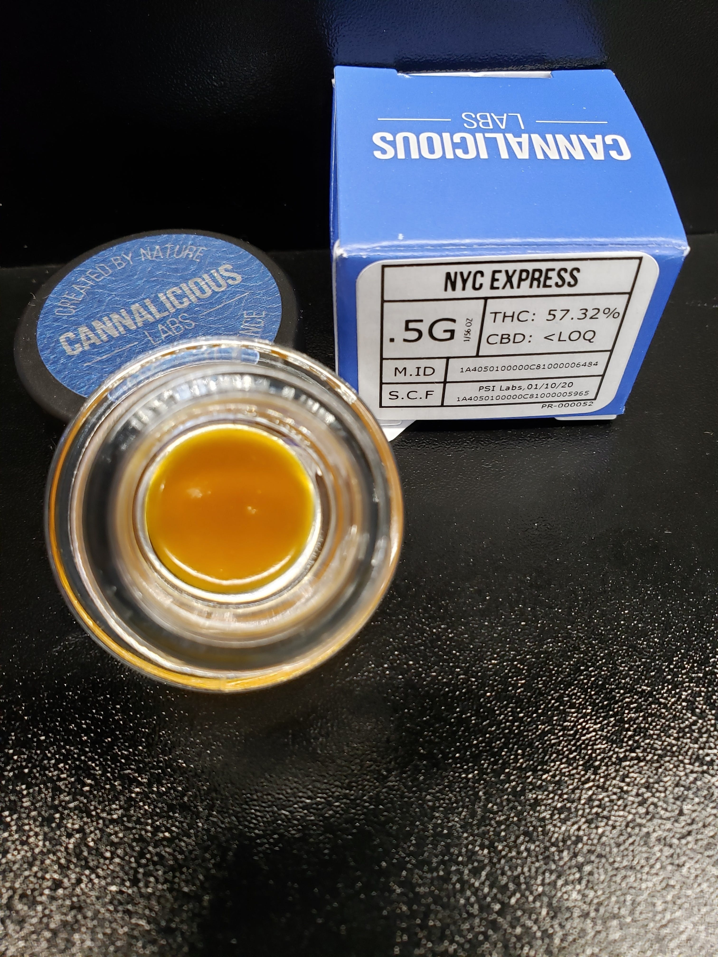 NYC Express Live Resin Concentrate Live Resin