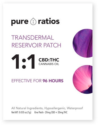 Transdermal Reservoir   1:1 Topicals Patch