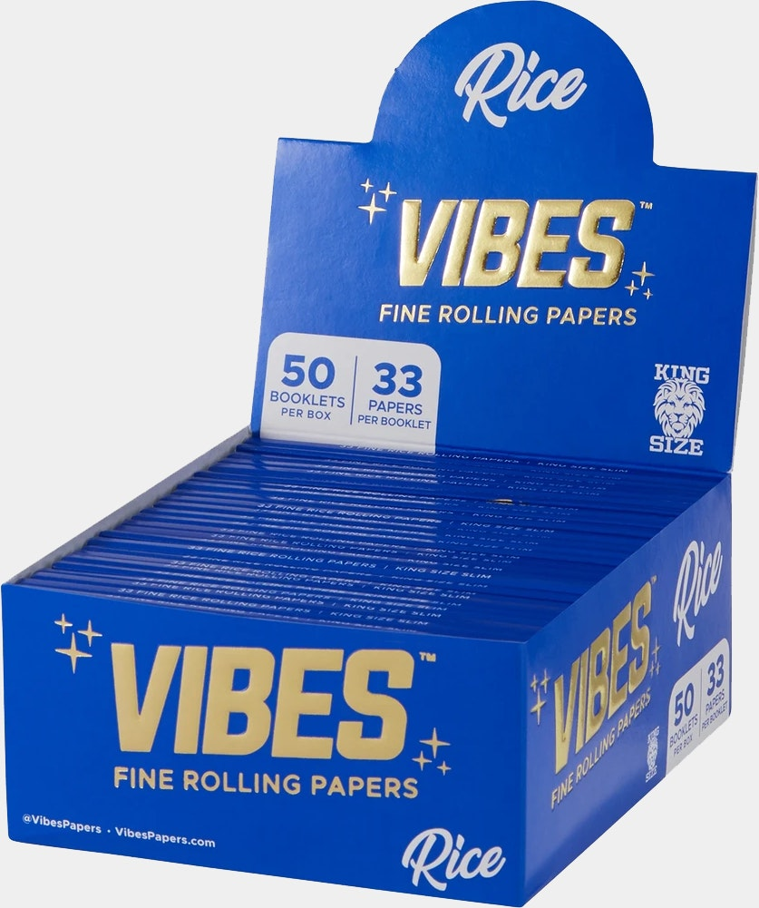 Rice Rolling Papers - King Size Accessories Rolling Paper